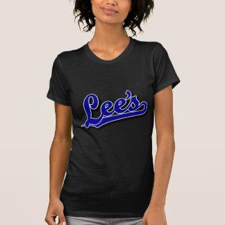 Lee's in Blue Tee Shirt