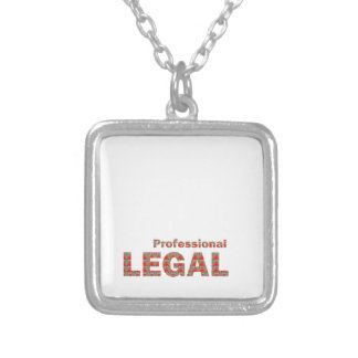 LEGAL professional Law Court Freedom LOWPRICE gift Square Pendant Necklace