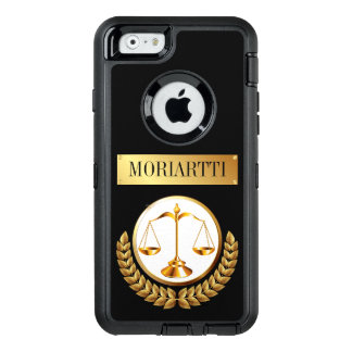 Legal Scales of Justice OtterBox Defender iPhone Case