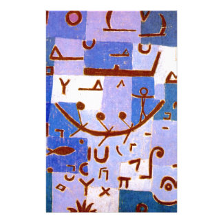 Legend of the Nile by Paul Klee Stationery