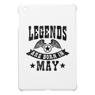 Legends Are Born In May Cover For The iPad Mini