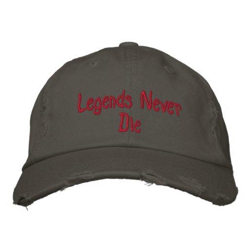 Legends Never Die Hat Baseball Cap