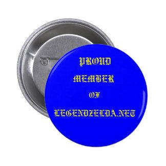 LEGENDZELDA.NET, PROUD, MEMBER, OF,LEGENDZELDA.NET 6 CM ROUND BADGE