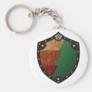 Legion of Kithicor Basic Round Button Key Ring