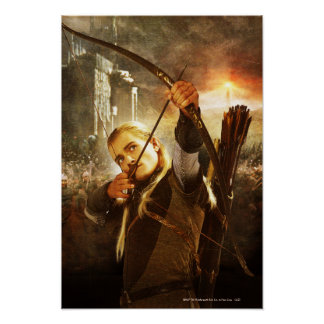 LEGOLAS GREENLEAF™ in Action Poster