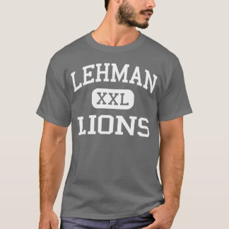 Lehman - Lions - High School - Bronx New York T-Shirt