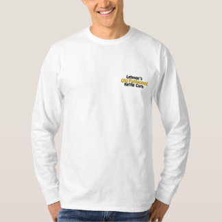 Lehman's Old Fashioned Kettle Corn Embroidered Long Sleeve T-Shirt