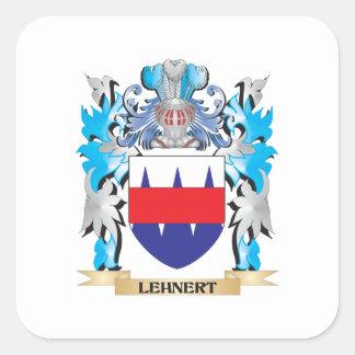 Lehnert Coat of Arms - Family Crest Square Sticker