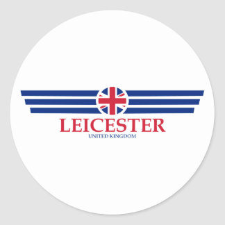 Leicester Classic Round Sticker
