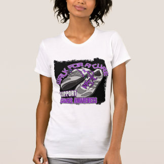 Leiomyosarcoma Walk For A Cure Shoes T-shirt