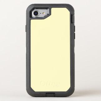 Lemon Chiffon Solid Color It OtterBox Defender iPhone 8/7 Case
