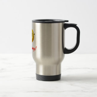 Lemon composition Keep Smiling! Travel Mug