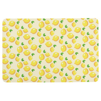 Lemon Floor Mats