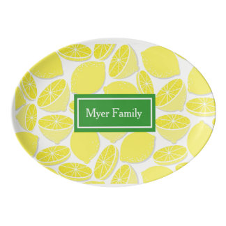 Lemon Personalized Serving Platter