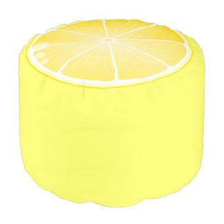 Lemon Slice Pouf