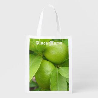 Lemon Tree Reusable Grocery Bags