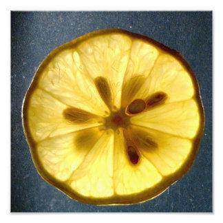 Lemon Wheel Photo Art