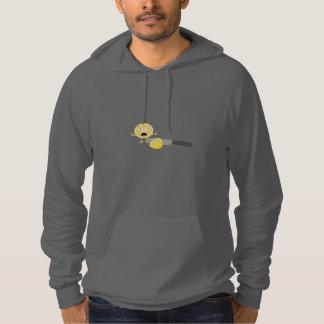 Lemon with knife hoodie
