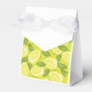 Lemon Yellow Party Favour Box