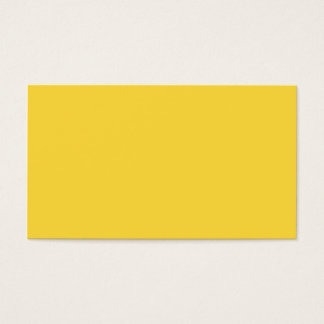 Lemon Zest Yellow Trend Colour Customised Template Business Card