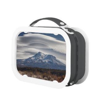 LENTICULAR ABOVE MOUNT SHASTA LUNCHBOXES