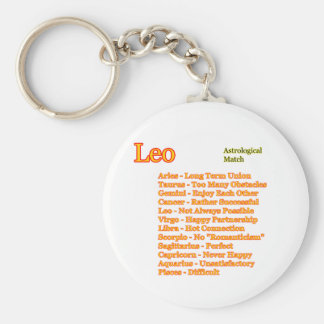 Leo Astrological Match The MUSEUM Zazzle Gifts Keychain