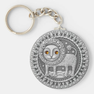 Leo Coin key chain