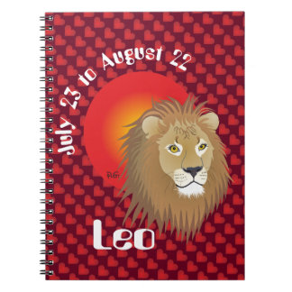 Leo July 23 tons of August 22 notebook