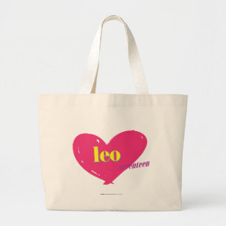 Leo Large Tote Bag