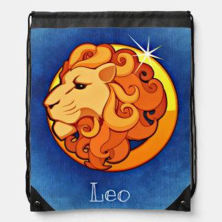 Leo, Leone Drawstring Bag