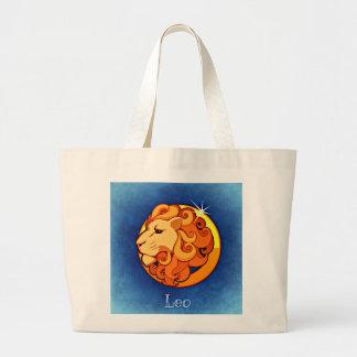 Leo, Leone Large Tote Bag