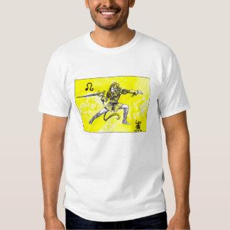 Leo Star Sign fencer T Shirts