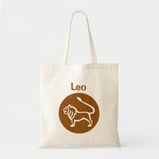 Leo Zodiac Sign Tote Bag