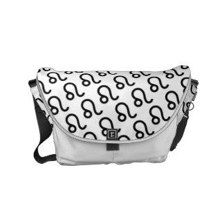 Leo Zodiac Symbol Standard Commuter Bags