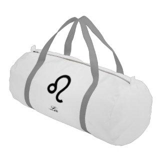 Leo Zodiac Symbol Standard Gym Bag