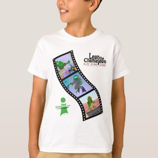 Leon Super Math Agent Filmstrip T-shirt