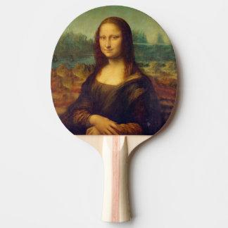 Leonardo da Vinci, Mona Lisa Painting Ping Pong Paddle