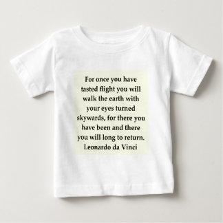 leonardo da vinci quote t-shirt