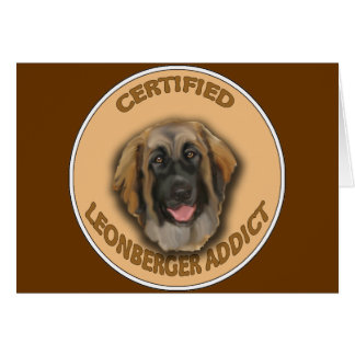 LEONBERGER ADDICT CARD