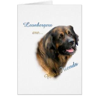 Leonberger Best Friend 2 Card