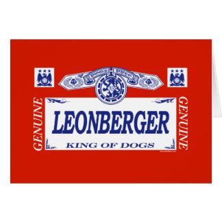 Leonberger Card