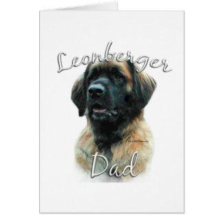 Leonberger Dad 2 Card