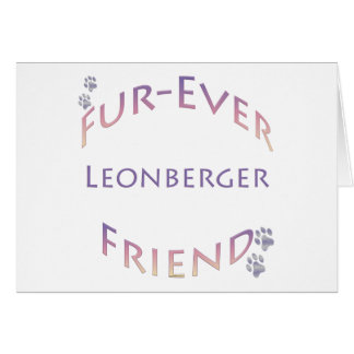 Leonberger Furever Card