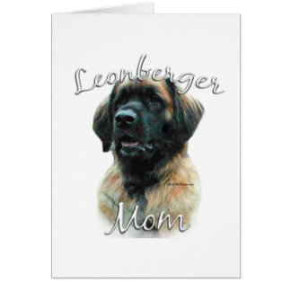 Leonberger Mom 2 Card