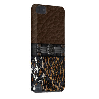Leopard Bling iPod Touch (5th Generation) Cover