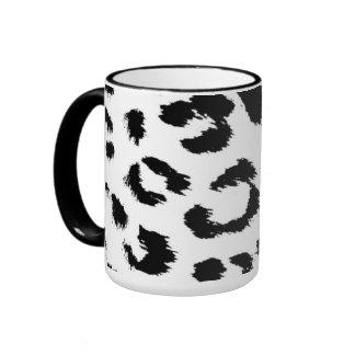 Leopard Fur Pattern Mugs