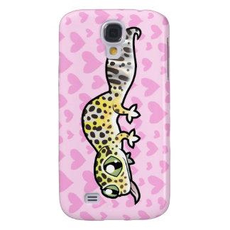 Leopard Gecko Love Galaxy S4 Case