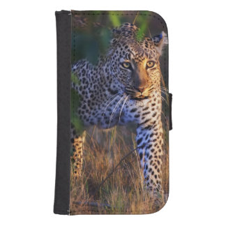 Leopard (Panthera Pardus) as seen in the Masai Samsung S4 Wallet Case