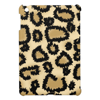 Leopard Print Pattern, Brown and Black. iPad Mini Case