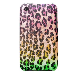 leopard print rainbow iphone case. iPhone 3 Case-Mate cases